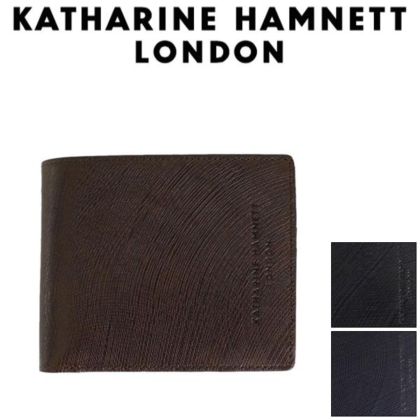 正規取扱店 KATHARINE HAMNETT LONDON (キャサリンハムネット ロンドン) 490-57302 Wave 札入れ 二つ折り財布 全3色