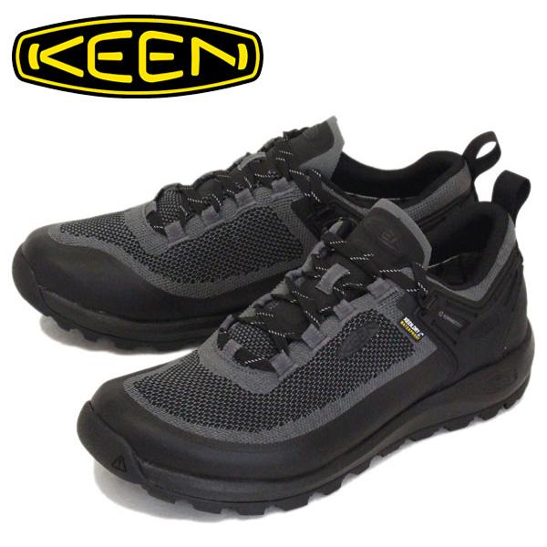 正規取扱店 KEEN (キーン) 1021517 Men's CITIZEN EVO WP シティズン エヴォ ウォータープルーフ CASTLE ROCK/BLACK KN332