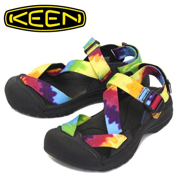 正規取扱店 KEEN (キーン) 1022419 Men's ZERRAPORT II ゼラポート ツー ストラップサンダル MULTI TYE-DYE/BLACK KN465