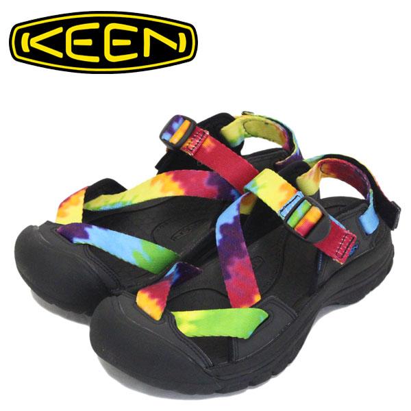 正規取扱店 KEEN (キーン) 1022501 Women's ZERRAPORT II ゼラポート ツー レディース ストラップサンダル MULTI TYE-DYE/BLACK KN473