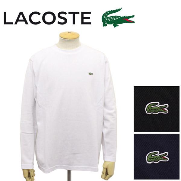 正規取扱店 LACOSTE (ラコステ) TH636EL 鹿の子地 ロングスリーブTシャツ 全3色 LC169
