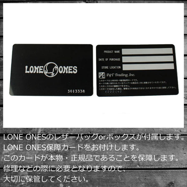 Postage, collect on delivery fee free regular handling LONE ONES Ron one LEONARD KAMHOUT Leonard cam Hort Mating Flight Wallet mating flight wallet wallet black in Japan
