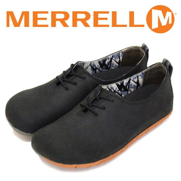 正規取扱店 MERRELL (メレル) J20552 WMS Mootopia Lace ムートピア レース レディース レザーシューズ Black MRL037