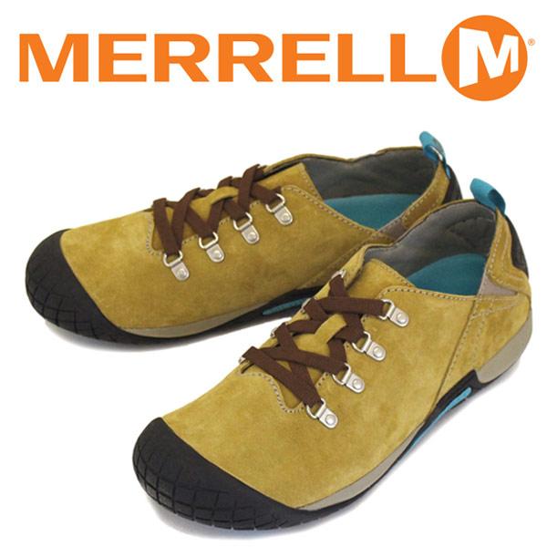 正規取扱店 MERRELL (メレル) J41567 PATHWAY LACE パスウェイ レース スエードレザーシューズ ANTELOPE MRL017