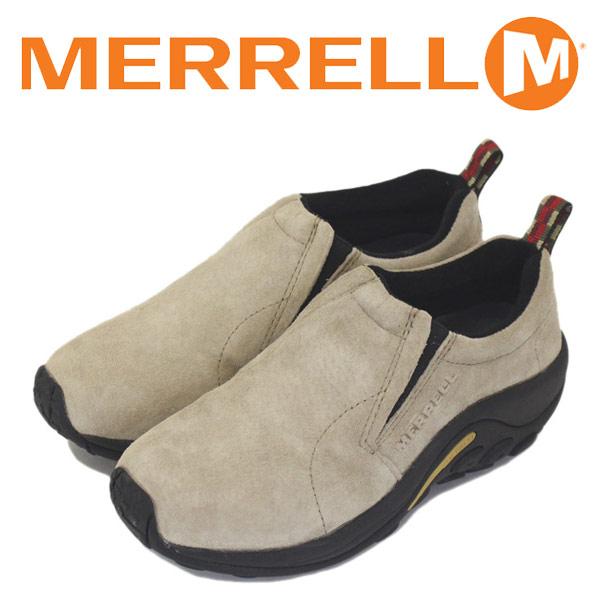 正規取扱店 MERRELL (メレル) J60802 ウィメンズ JUNGLE MOC ジャングルモック アウトドア レザーシューズ CLASSIC TAUPE MRL006
