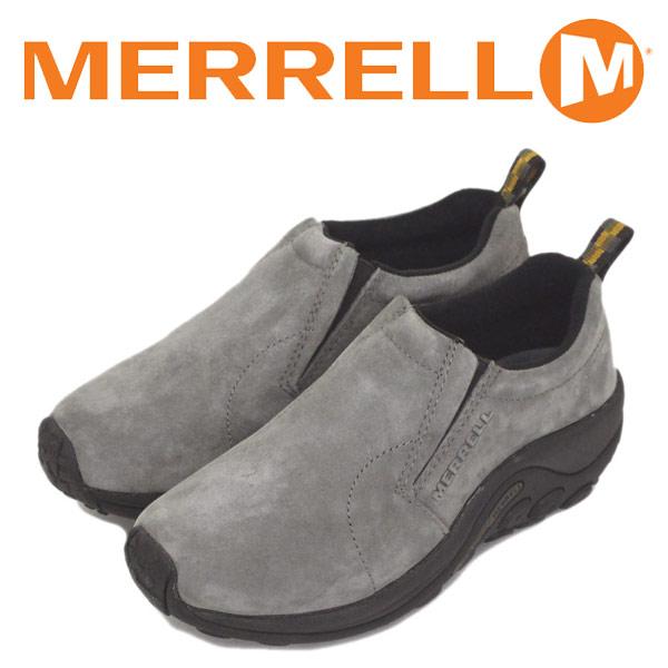 正規取扱店 MERRELL (メレル) J60806 ウィメンズ JUNGLE MOC ジャングルモック アウトドア レザーシューズ PEWTER MRL007