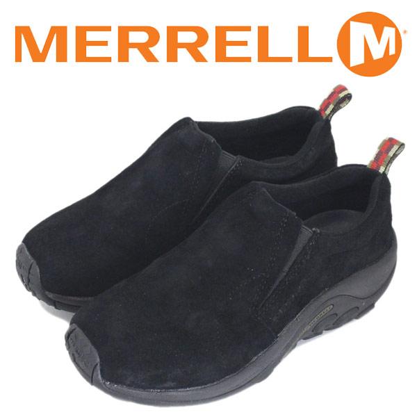 正規取扱店 MERRELL (メレル) J60826 ウィメンズ JUNGLE MOC ジャングルモック アウトドア レザーシューズ MIDNIGHT MRL005