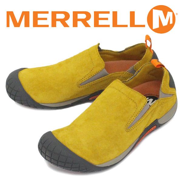 正規取扱店 MERRELL (メレル) J66337 Pathway Moc パスウェイモック スエードレザーシューズ Honey MRL039