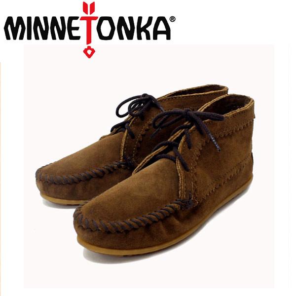 正規取扱店 MINNETONKA(ミネトンカ) Suede Ankle Boots(スエードアンクルブーツ)#273 DUSTY BROWN SUEDE レディース MT220