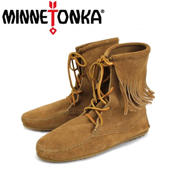 sale セール 正規取扱店 MINNETONKA(ミネトンカ)Tramper Ankle Hi Boot(トランパー アンクルハイブーツ)#427T TAUPE レディース MT026