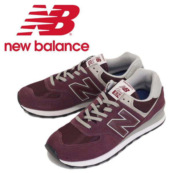 new balance ml574 burgundy