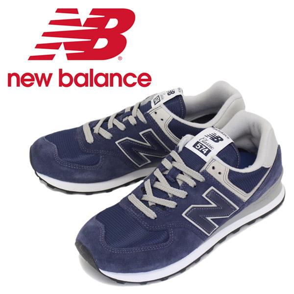 正規取扱店 new balance (ニューバランス) ML574 EGN スニーカー NAVY NB617