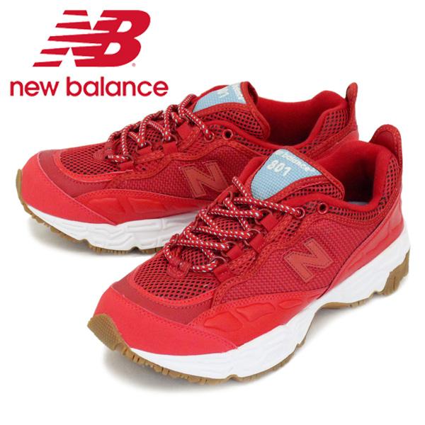 正規取扱店 new balance (ニューバランス) ML801 BED スニーカー RED NB669