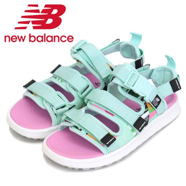 正規取扱店 new balance (ニューバランス) SDL750 PB サンダル BALI BLUE NB723