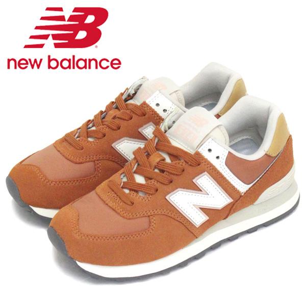 正規取扱店 new balance (ニューバランス) WL574 SYN レディーススニーカー DARK AMBER NB708