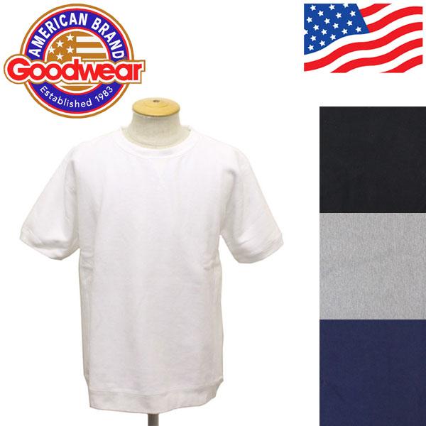 正規取扱店 Goodwear (グッドウェア) SS PULLOVER SWEAT 半袖プルオーバースウェット 全4色 GDW001