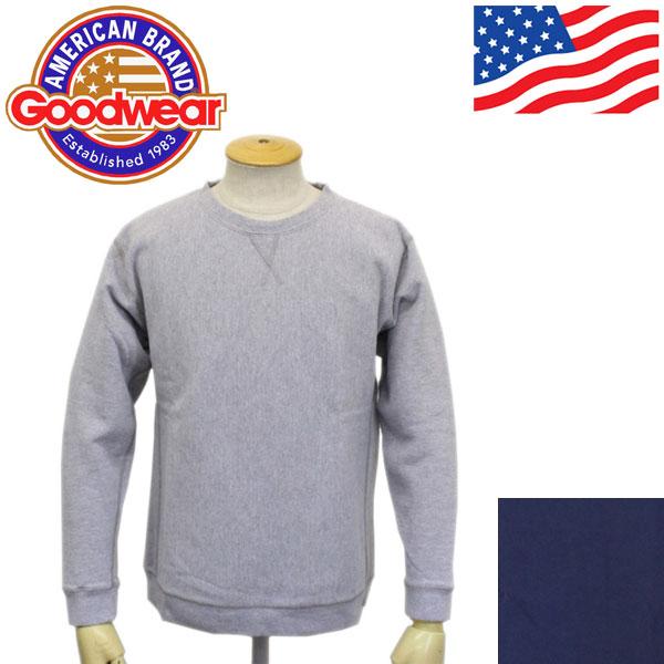 正規取扱店 Goodwear (グッドウェア) LS PULLOVER SWEAT 長袖プルオーバースウェット 全2色 GDW002