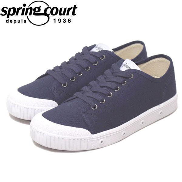 正規取扱店 spring court (スプリングコート) G2S-V1 G2 Classic Canvas (クラシックキャンバス) レディース スニーカー MIDNIGHT BLUE (ミッドナイトブルー) SPC004