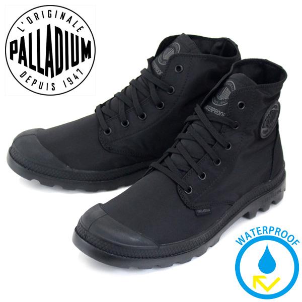 正規取扱店 PALLADIUM (パラディウム) 73085-060 Pampa Puddle Lite WP (パンパパドルライト) レインシューズ スニーカー Black/Black PD110