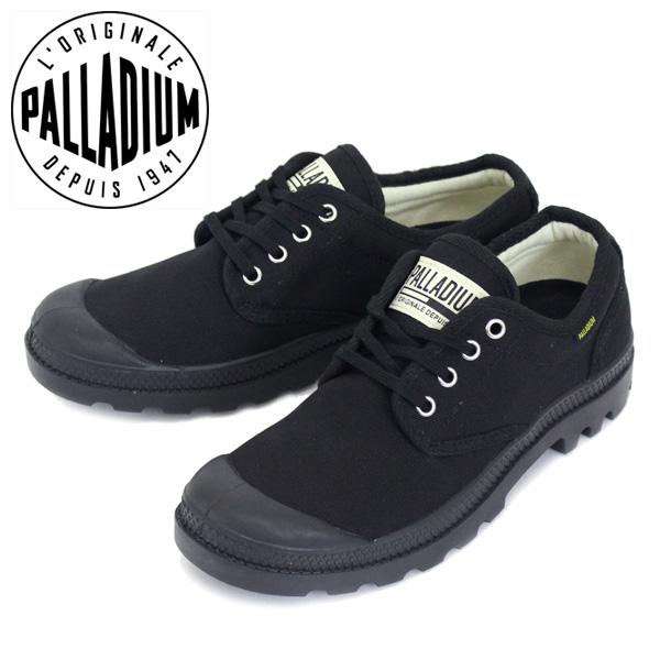 正規取扱店 PALLADIUM (パラディウム) 75331-060 Pampa Ox パンパオックス オリジナーレ スニーカー Black/black PD105