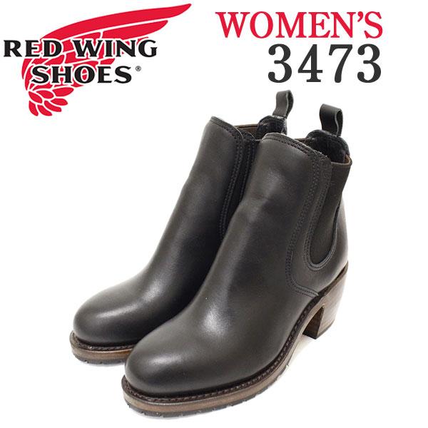 正規取扱店 REDWING (レッドウィング) 3473 HARRIET ハリエット チェルシー サイドゴアヒールブーツ レディース ブラックバウンダリー