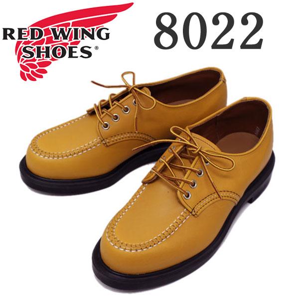 正規取扱店 RED WING(レッドウィング) 8022 Super Sole Oxford メイズマスタング