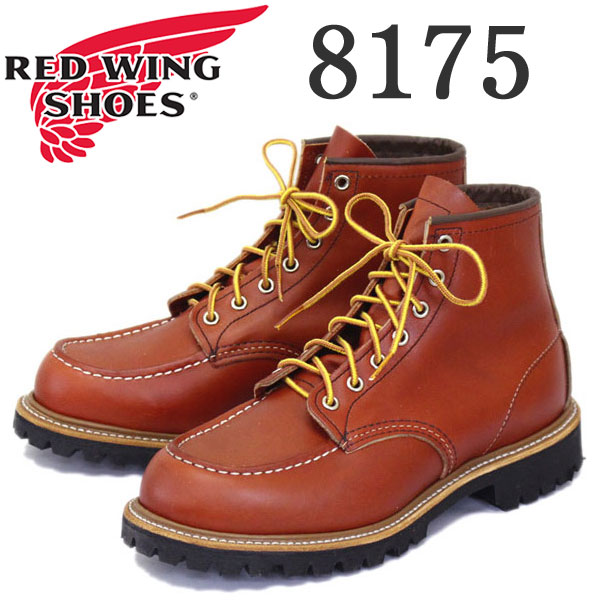 Japan domestic shipping & cash on delivery fee free regular handling  store in 2016-2017 new RED WING (Red Wing) 8175 (6 intimocktu / lug sole)  Classic ...