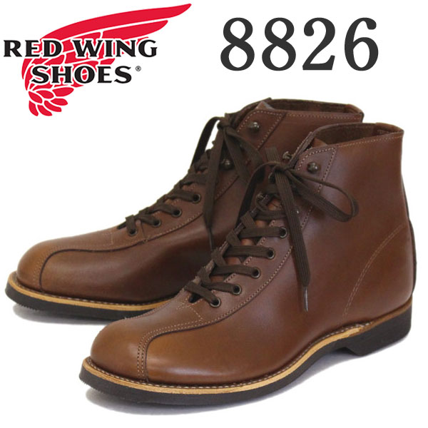 正規取扱店 2018-2019年 新作 REDWING (レッドウィング) 8826 1920s Outing Boot アウティングブーツ ティークフェザーストーン