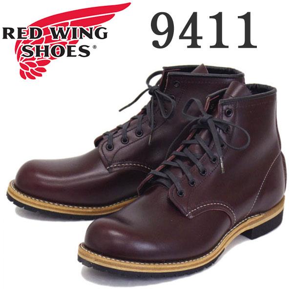 正規取扱店 RED WING (レッドウィング) 9411 Classic Dress Beckman Boot Vibram (ベックマンブーツ ビブラムソール) ブラックチェリーフェザーストーン