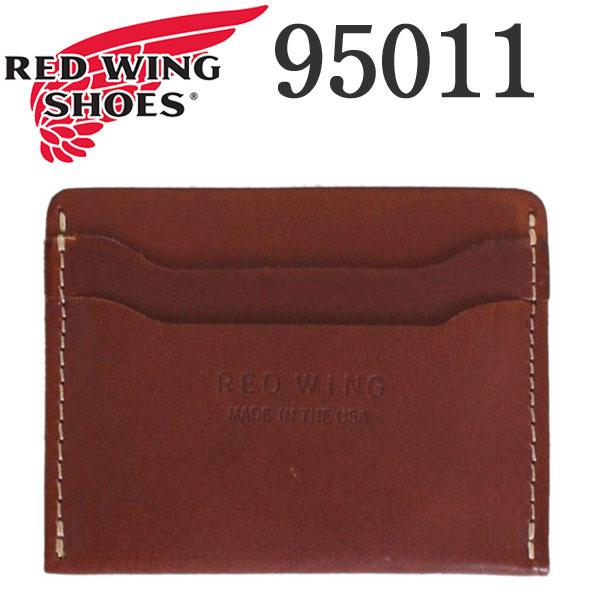 正規取扱店 2018年 新作 REDWING (レッドウィング) 95011 Card Holder (カードホルダー) オロラセットフロンティア
