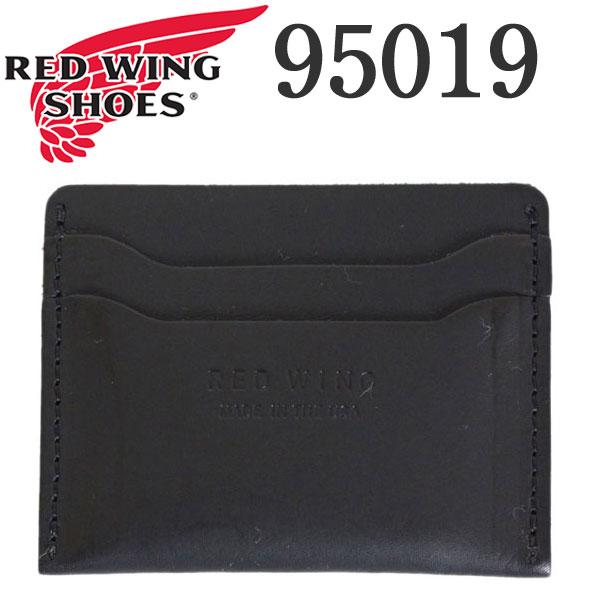正規取扱店 2018年 新作 REDWING (レッドウィング) 95019 Card Holder (カードホルダー) ブラックフロンティア