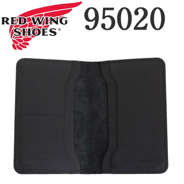 正規取扱店 2018年 新作 REDWING (レッドウィング) 95020 Passport Case (パスポートケース) ブラックフロンティア