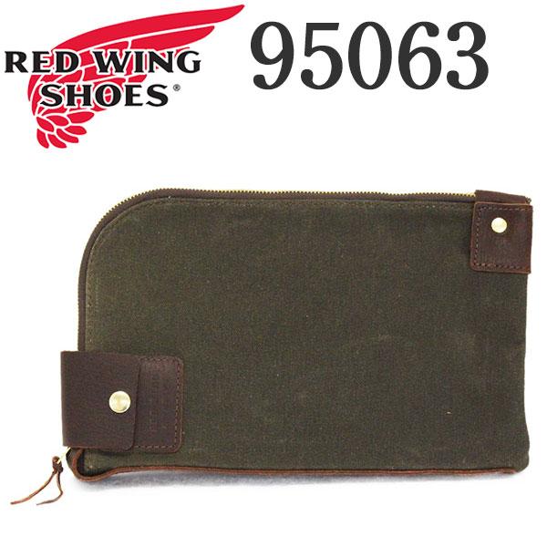 正規取扱店 2020年 新作 REDWING (レッドウィング) 95063 Small Wacouta Gear Pouch スモール ワクータ ギアポーチ オリーブ