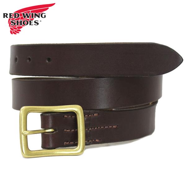 正規取扱店 RED WING(レッドウィング) 96561 Leather Belt (レザーベルト) 32mm Havana Brown