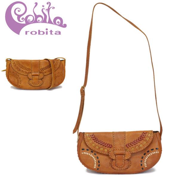 正規取扱店 robita (ロビタ) R191-001 ステッチ ショルダーバッグ 全2色 RBT059