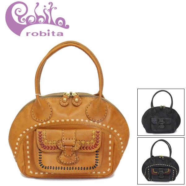 正規取扱店 robita (ロビタ) R191-003 ステッチ ボストンバッグ 全3色 RBT060