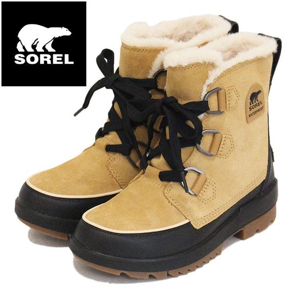 正規取扱店 SOREL (ソレル) NL3425 TIVOLI IV ティボリIV レディース スノーブーツ 防水 373 CURRY SRL023