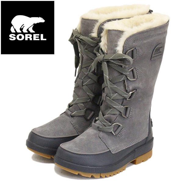 正規取扱店 SOREL (ソレル) NL3426 TIVOLI IV TALL ティボリIVトール レディース スノーブーツ 防水 052 QUARRY SRL020