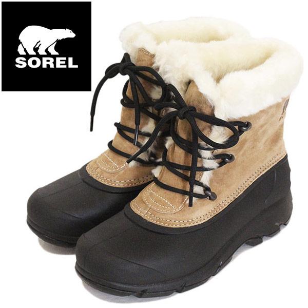 正規取扱店 SOREL (ソレル) NL3482 SNOW ANGEL スノーエンジェル レディース スノーブーツ 234 ROOTBEER SRL043