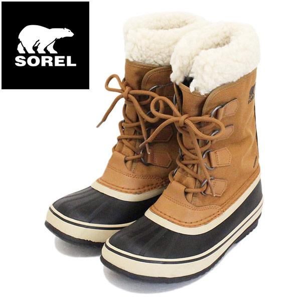 正規取扱店 SOREL (ソレル) NL3483 WINTER CARNIVAL ウィンターカーニバル レディース スノーブーツ 224 CAMEL BROWN SRL042