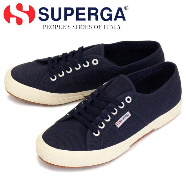 正規取扱店 SUPERGA (スペルガ) 2750-COTU CLASSIC キャンバススニーカー 933 NAVY SPG002