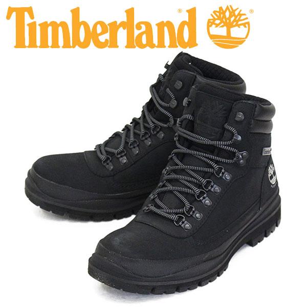 平日14時まで即日出荷可。正規取扱店BOOTSMAN(ブーツマン) 正規取扱店 Timberland (ティンバーランド) A1YWV FIELD TREKKER WP フィールドトレッカー ウォータープルーフ ブーツ Black TB234