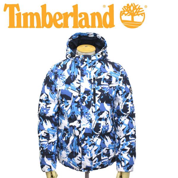 スーパーセール正規取扱店 Timberland (ティンバーランド) A1Z3D AF AOP GOOSE EYE JACKET オールオーバープリント グースアイジャケット W84-Blithe/TrekCamo TB0104