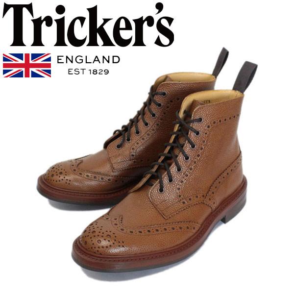 正規取扱店 Tricker's トリッカーズ 2508M COUNTRY BROGUE(カントリーブローグ) ダイナイトソール シェンナスコッチグレイン TK030