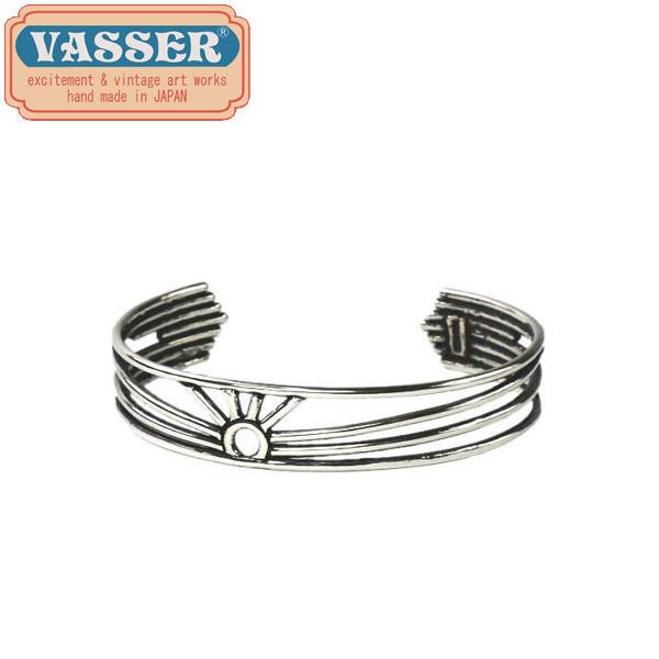 正規取扱店 VASSER(バッサー)Rising Sun Bangle Silver(ライジングサンバングル シルバー)