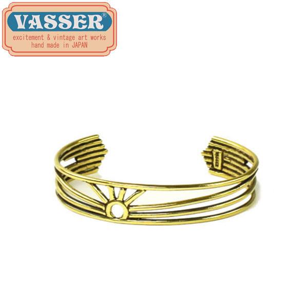 正規取扱店 VASSER(バッサー)Rising Sun Bangle Brass(ライジングサンバングル ブラス)