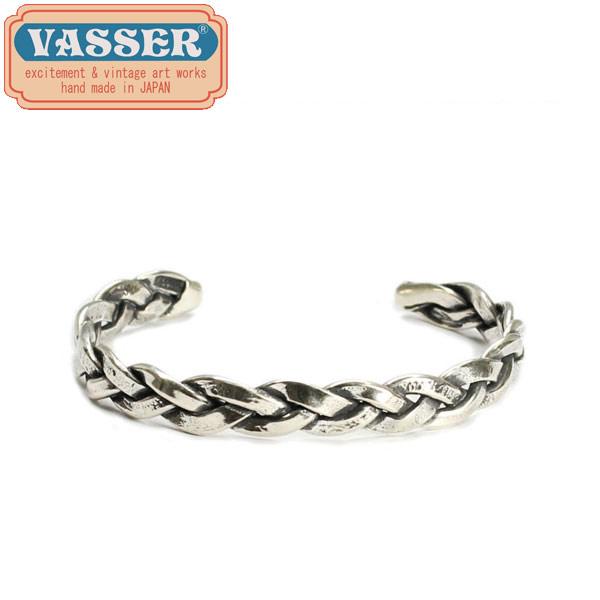 正規取扱店 VASSER(バッサー)Vintage Woven Bangle Silver(ヴィンテージウーブンバングルシルバー)