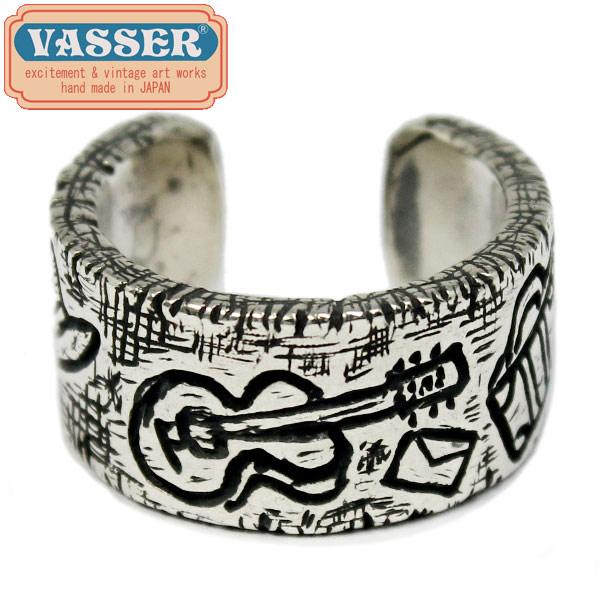 正規取扱店 VASSER(バッサー)Sketch Ring(スケッチリング) [男の旅] 小指向けフリーサイズ