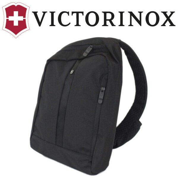 正規取扱店 VICTORINOX (ビクトリノックス) 31173701 Accessories Gear Sling ウィズRFIDプロテクション ショルダーパック BLACK ブラック VX033