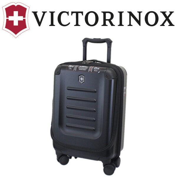 正規取扱店 VICTORINOX (ビクトリノックス) 601283 Spectra2.0 Expandable Compact Global Carry-On マルチキャビンケース BLACK ブラック VX034